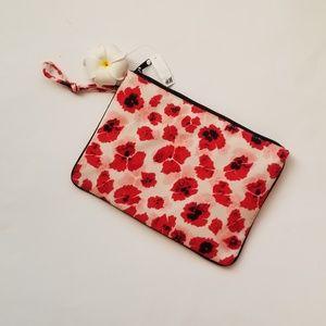 H&M FLORAL CLUTCH BAG